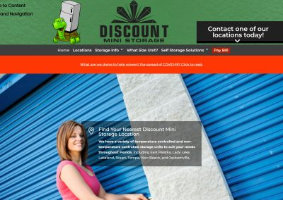 Discount Mini Storage Of Florida