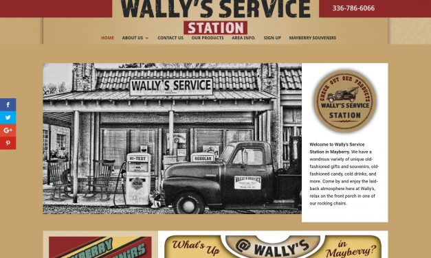 Wally's Service Station Of Mount Airy, NC